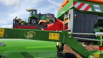 On-site pics: Machinery hauled, parked and ready for 'Ploughing 2019'