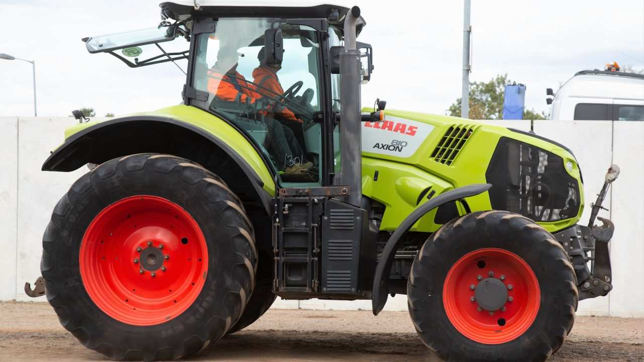 Auction report: A touch of 'Claas' at September's sale