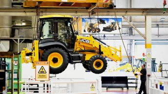 JCB hits £4 billion threshold, but issues word of warning