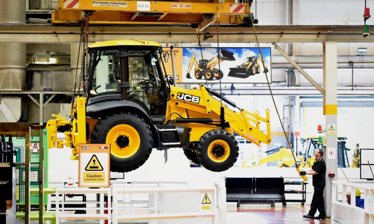 JCB ends 'short-time working' as component shipping improves