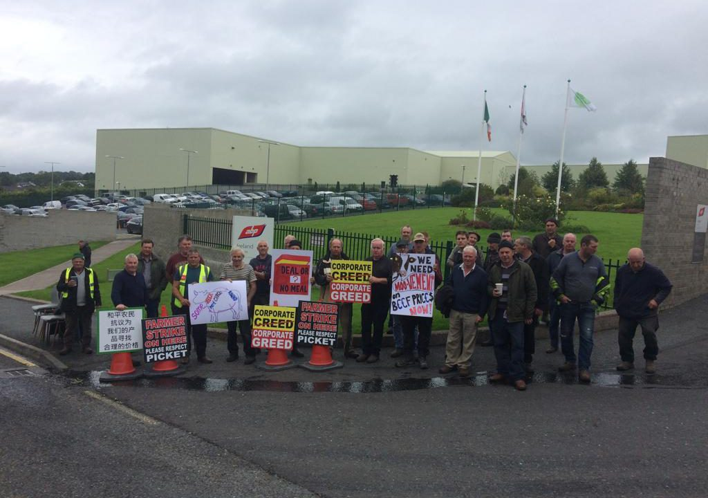 New protest begins at ABP site in Clones