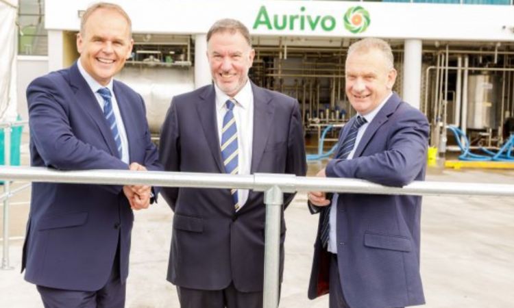 Aurivo to use 'lower carbon fuel' for milk-drying facility
