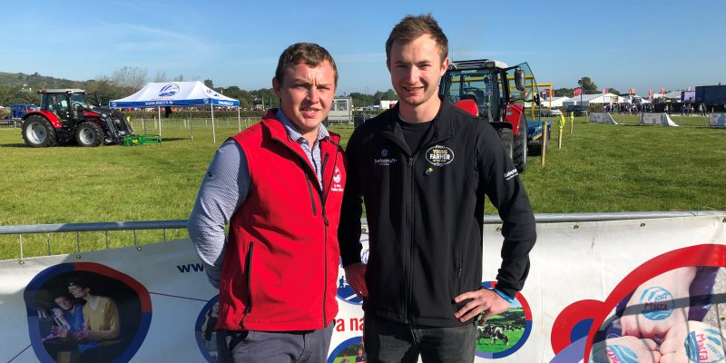 International team 'drive home' with tractor safety award at 'Ploughing'