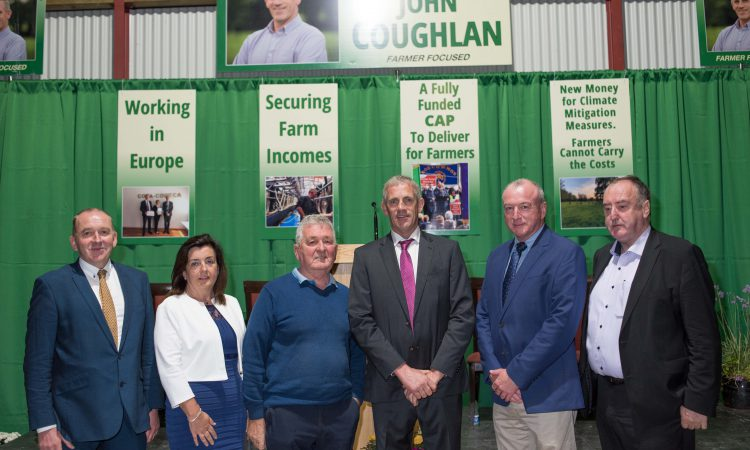 Coughlan officially launches bid for top office