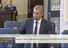 Lombard appointed Fine Gael agri spokesperson in Seanad