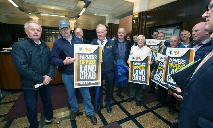 'We are the greenest farmers in Ireland and we are the most punished…'