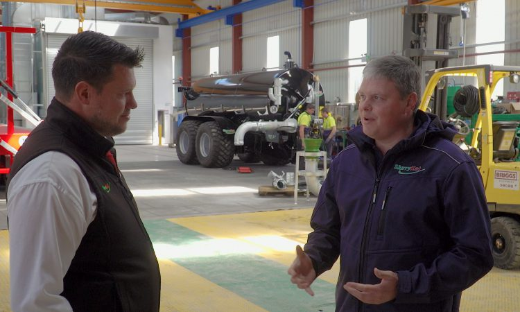 Video: 'I started out doing a small bit of contracting work for local farmers'