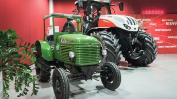 CNH to position Steyr as a 'premium short-line brand'