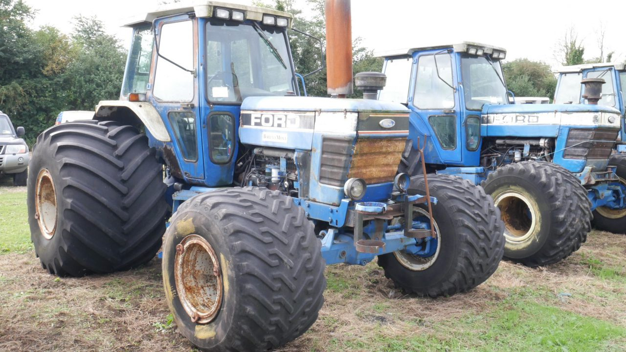 Bord Na Móna to hold major tractor and machinery auction
