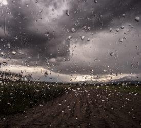 Status Orange and Yellow rain warnings issued by Met Éireann