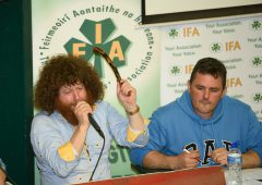 Pics: 'Packed ringside' at Donegal IFA's charity auction