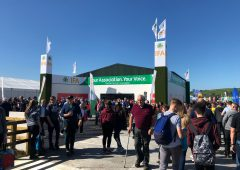 UK farm leader joins IFA at 'Ploughing' on 'shared Brexit concerns'