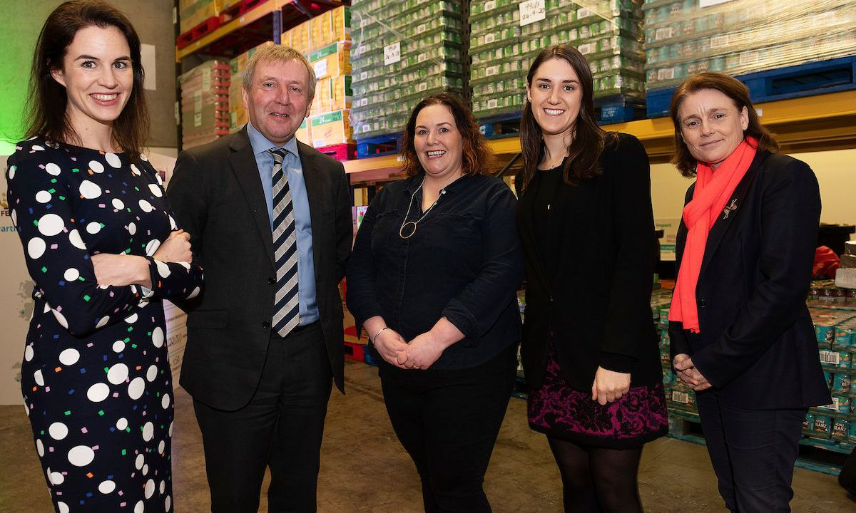Creed announces funding for food waste reduction projects