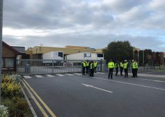 Protesters leave pickets at factories in Ferrybank and Cahir