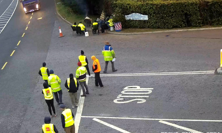 Dawn Meats brings in Gardai following 'balaclava protest'