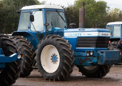 Auction report: £132,000 (plus VAT and commission) for County tractor – bought by an Irish man