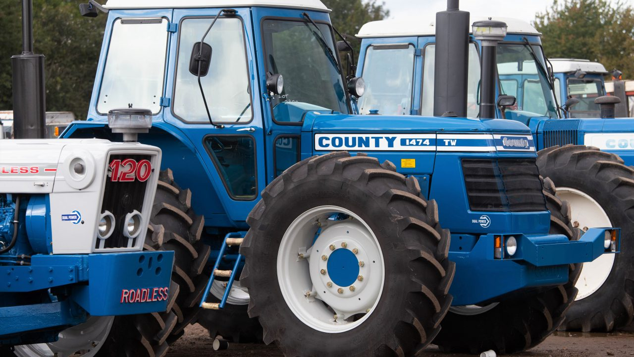 Auction report: £94,000 (plus commission) for a gleaming County1474 TW