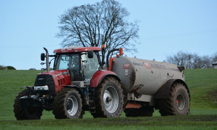 'Currently no plans' to allow slurry spreading during closed period