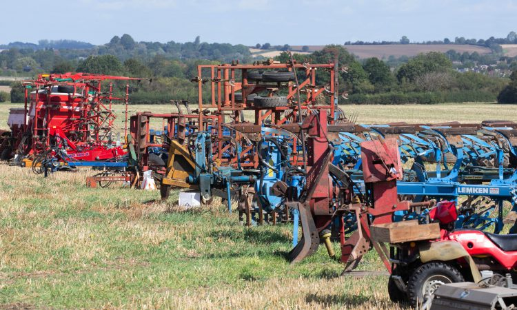 Auction report: Tillage tackle clearance at 'on-farm' sale