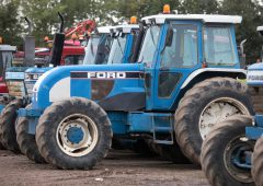 Auction report: Odd and not-so-odd Ford and New Holland tractors up for grabs