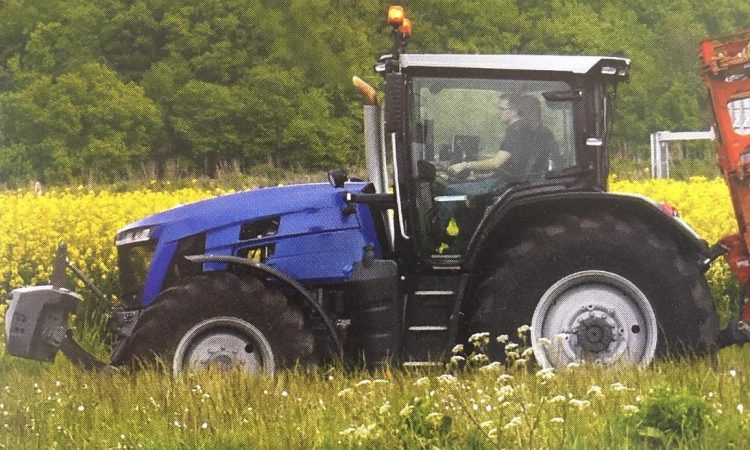 Unofficial: Spotted near the AGCO / Massey Ferguson factory in France?