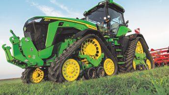 New high-powered John Deere tractors get 2 tracks, 4 wheels or 4 tracks