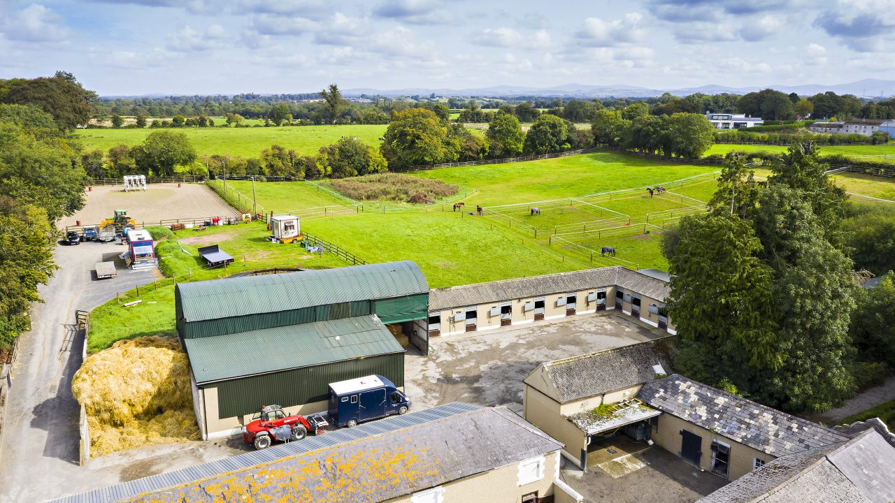 Historic equestrian property and home to 12 classic winners up for grabs