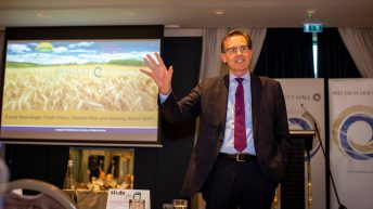 'If we don't have a weather problem grain prices fall'