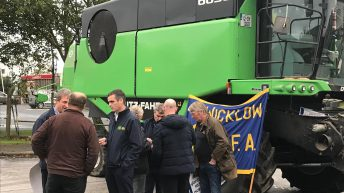 Updated: IFA grain protests lifted outside Glanbia