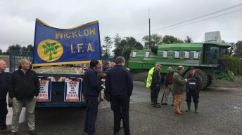 Second picket in place as IFA grain price protest escalates