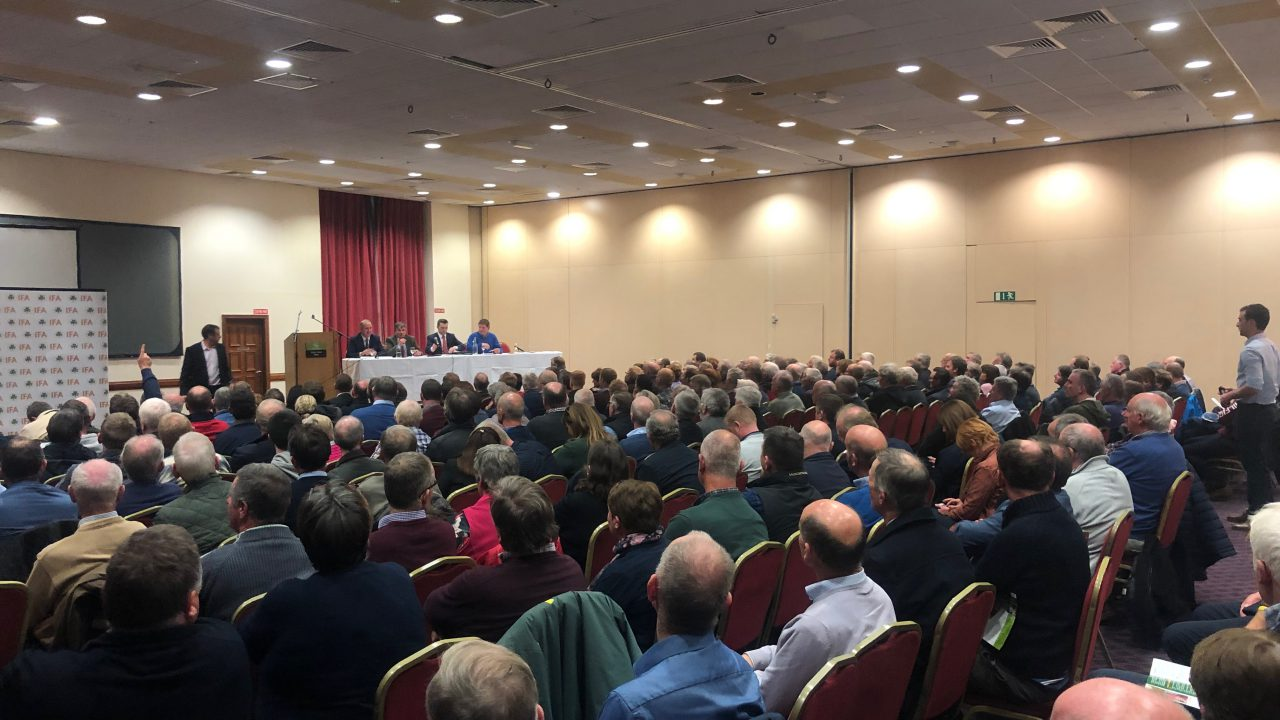What did farmers say about the first IFA presidential debate?