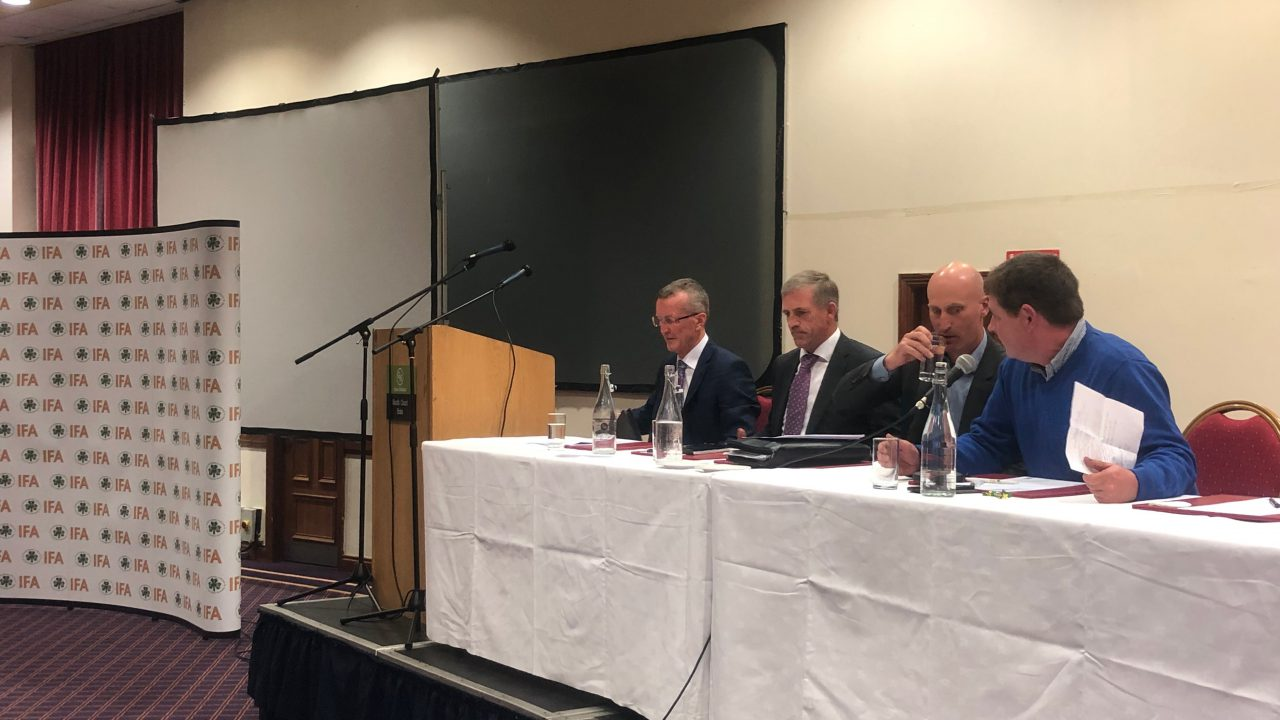 IFA presidential candidates quizzed by crowd in Limerick