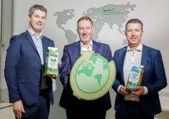 Aurivo unveils fully renewable milk cartons