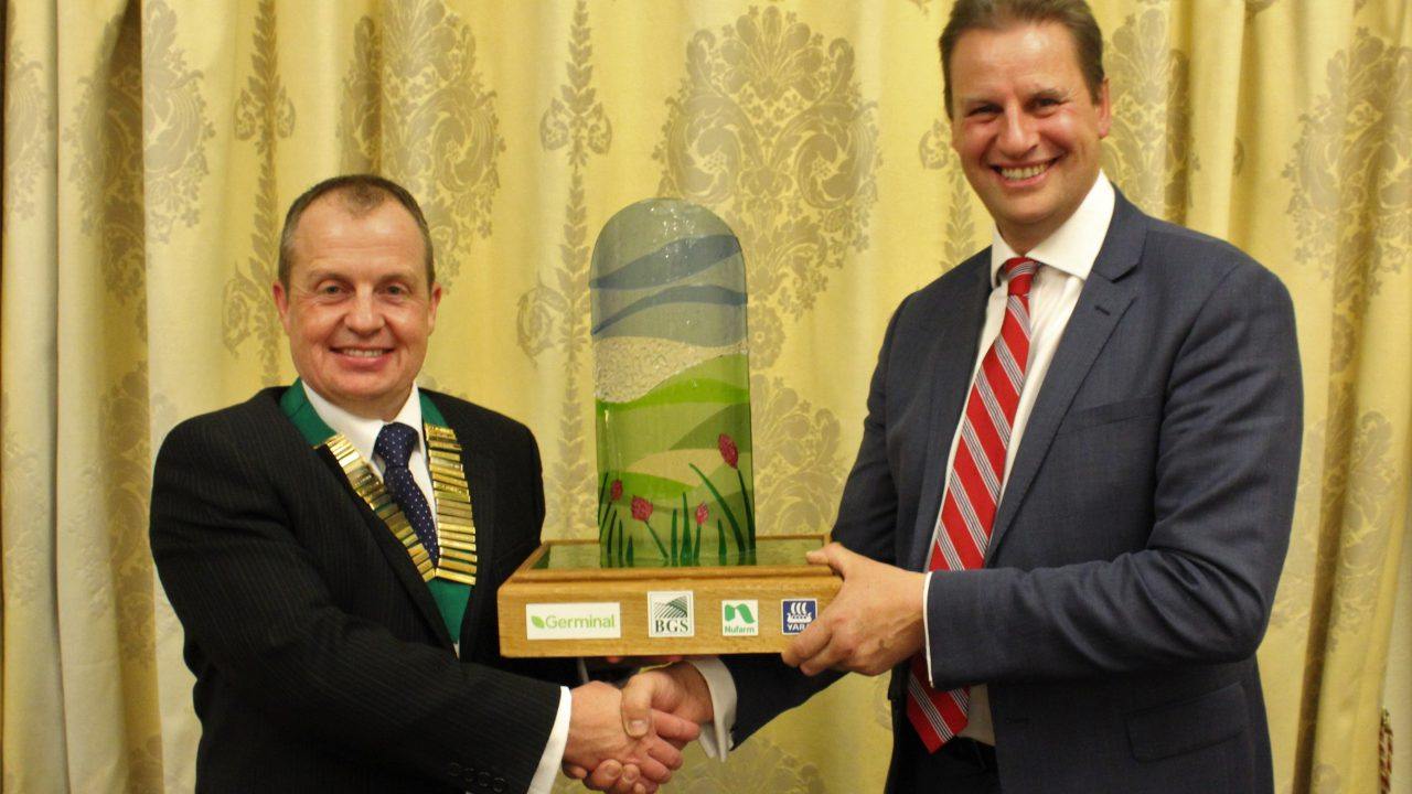 Co. Down farmer honoured with British grassland award