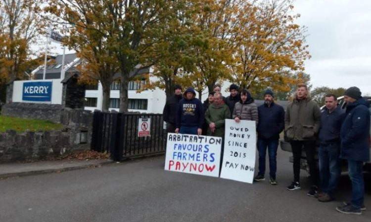 Protest ongoing at Kerry Group offices in Tralee