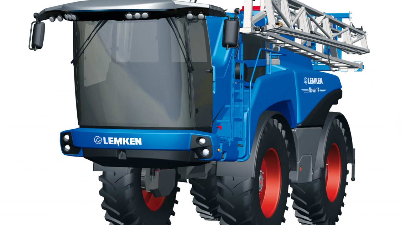 Lemken self-propelled sprayer is imminent