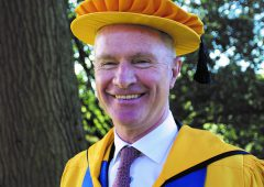 Devenish chairman receives honorary degree from Harper Adams University