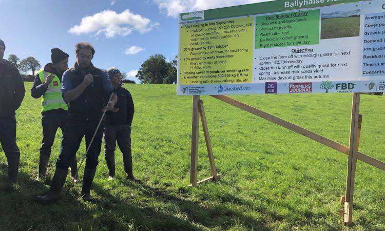Winding down the grazing season in Teagasc Ballyhaise