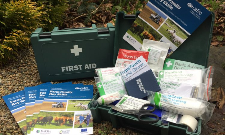 First aid courses for Northern Ireland farm families launched