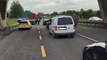 Garda operation detects green diesel in 4 vehicles