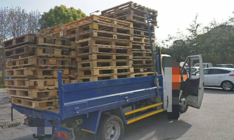 Precarious pallets prove pricey for pick-up driver