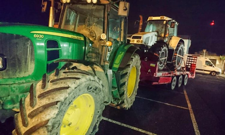 Tractor seized and 'range of offences dealt with'