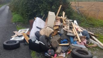Illegal countryside dumping condemned by Gardaí