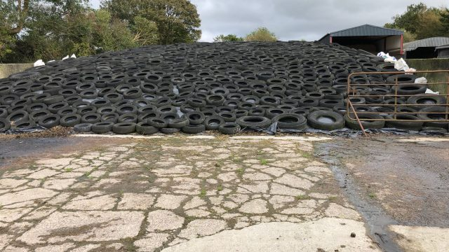 Management of silage effluent  after first cut