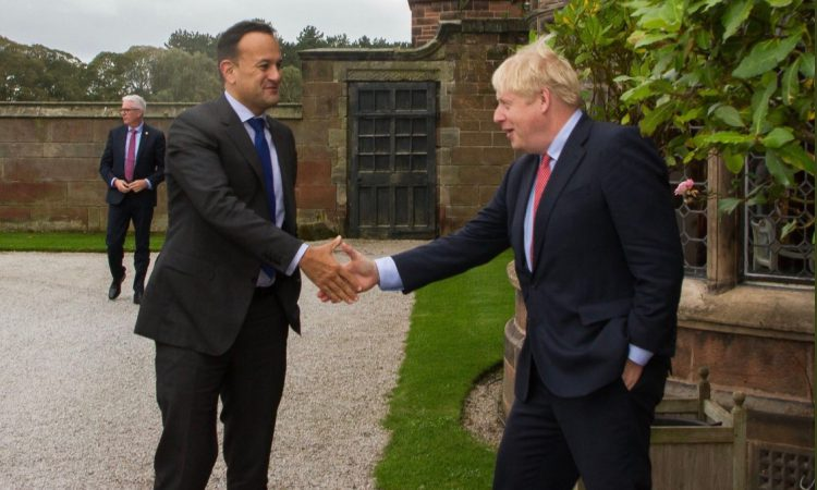 Brexit talks: Varadkar and Johnson 'could see pathway to possible deal'