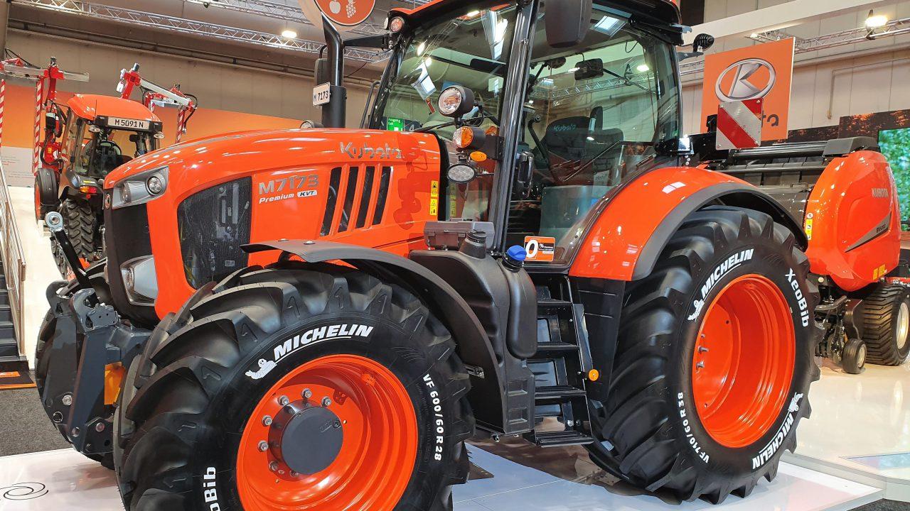 Make way for the third generation: Kubota unveils new 130-170hp tractors