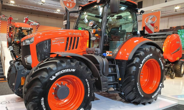 Make way for the third generation: Kubota unveils new 130-170hp tractors