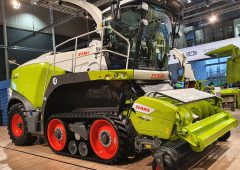 925hp flagship Claas forager unveiled at Agritechnica
