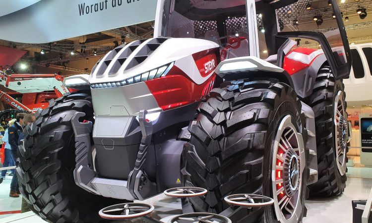 Striking Steyr 'concept tractor' pulls the punters at Agritechnica
