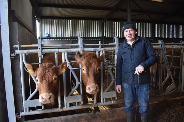 'Social farming is beneficial for all': Limousin breeder